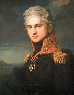 Portrait of Cout Pavel Stroganov