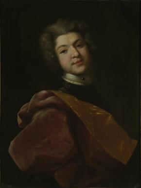 Portrait of Baron Sergei Stroganov, Youngest Son of the Salt manufacturer Grigory Stroganov and his Wife Maria