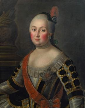 Portrait of Countess Anna Vorontsova, née Skavronskaya, Wife of the Chancellor Count Mikhail Vorontsov