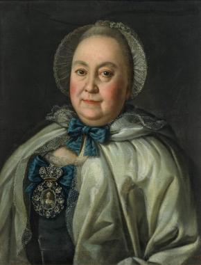 Portrait of Countess Maria Rumyantseva, née of Countess Matveyeva, Wife of Count Alexander Rumyantsev