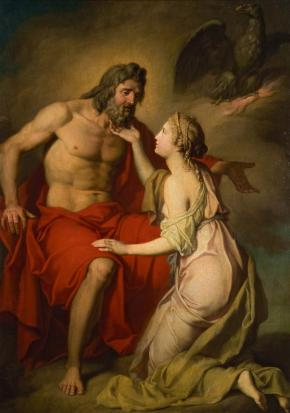 Zeus and Thetis