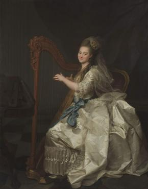 Portrait of Glafira Alymova