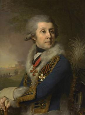 Portrait of Major General Fyodor Borowsky