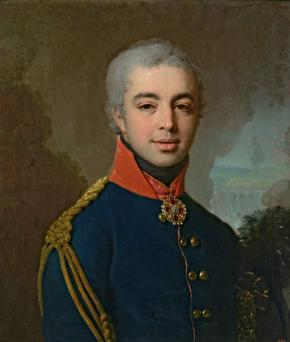 Portrait of Mikhail Trakhimovsky, Military Councillor and Godfather of Nikolai Gogol
