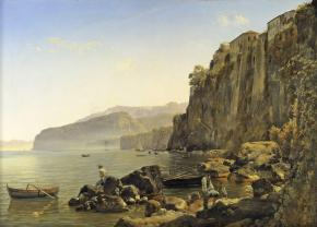A View of Sorrento near Naples with Tasso's House