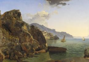A View of Amalfi near Naples
