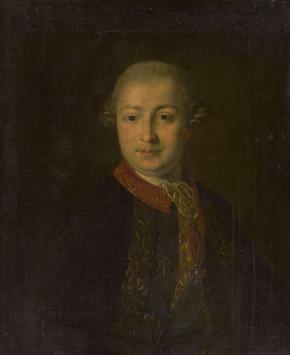 Portrait of Ivan Shuvalov