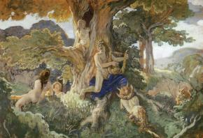 Apollo and Daphne (Apollo's Song to Dryads and Fauns)