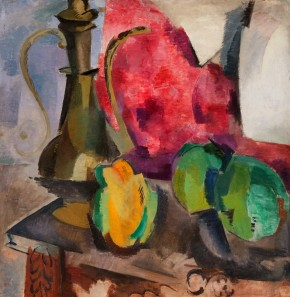 Still Life. Vessel and Fruit