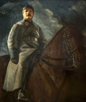 Mikhail Frunze on Horseback