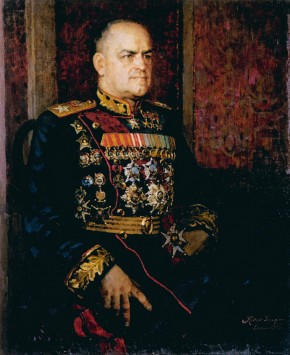 Portrait of Georgy Zhukov