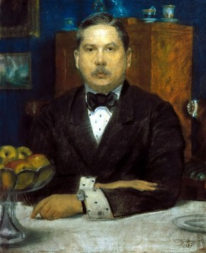 Portrait of Konstantin Somov