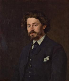 Portrait of Ilya Repin