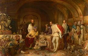 Ivan the Terrible Showing Treasures to the English Ambassador Jerome Horsey