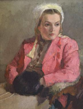 Portrait of Maria Petrova