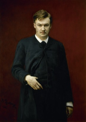 Portrait of Alexander Glazunov