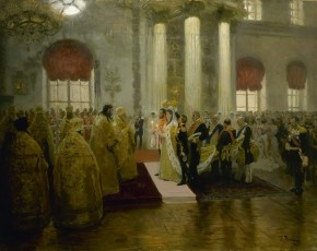 Wedding of Tsar Nicholas II and Grand Duchess Alexandra Fyodorovna