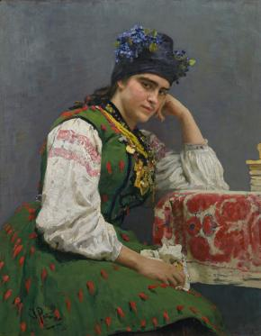Portrait of Sofya Dragomirova