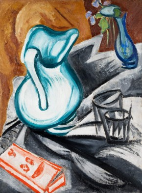 Still Life with a Green Jug