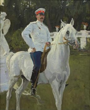 Portrait of Count Felix Sumarokov-Elston (Later Prince Yusupov)