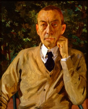 Portrait of Serge Rachmaninoff