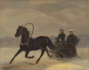 Alexander II in a Sledge