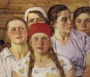 Komsomol Girls. Younger Generation from Outside Moscow