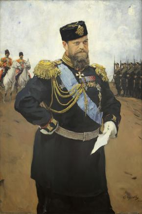 Portrait of  Alexander III