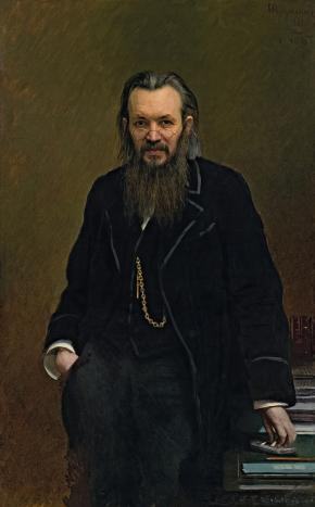 Portrait of Alexei Suvorin