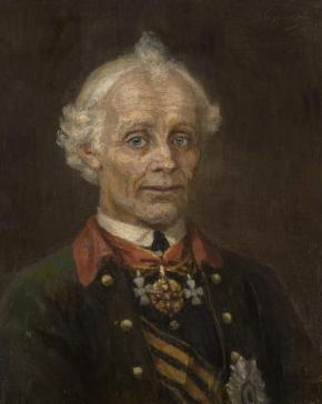 Portrait of Generalissimo A.S. Suvorov