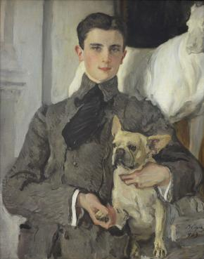 Portrait of Count Felix Sumarokov-Elston (Later Prince Yussupov)