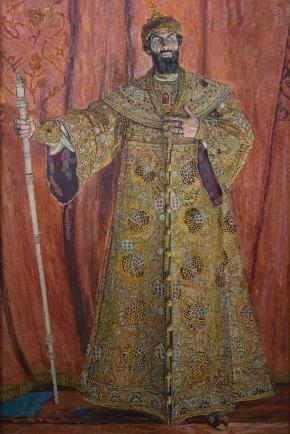 Portrait of Fyodor Chaliapin in the Role of Boris Godunov