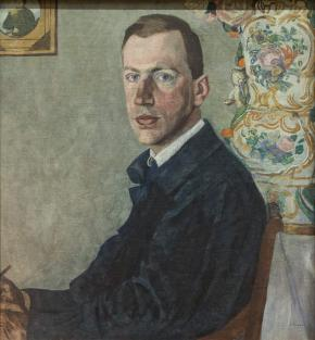 Portrait of Erich Gollerbakh