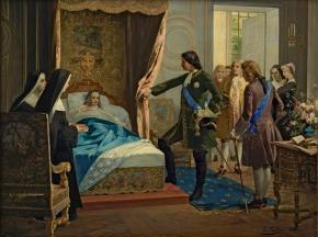 Peter the Great Visiting the Marquise de Maintenon in 1717